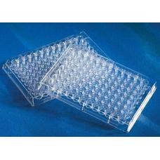 планшет иммунологический 96лунок плоскодонный стерильный (с крышкой)