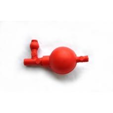 груша резининовая с 3 клапанами и переходником, Kartell