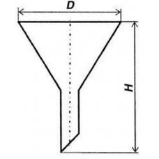 Воронка кварцевая d-110 мм