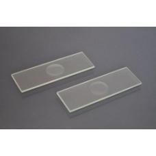 стекло предметное  с 1-й лункой, 26*76+/-1мм, толщина 1,0+/-0,1мм, СП-7103 упаковка 50шт