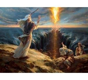 Физики посчитали, сколько мощности нужно, чтобы море расступилось перед Моисеем