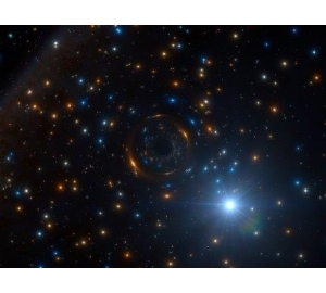 Странное поведение звезды позволило обнаружить прячущуюся черную дыру