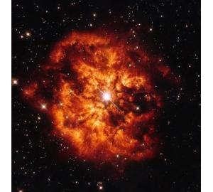 Звезды Вольфа — Райе оказались остатками голубых гигантов, «съеденных» своими собратьями