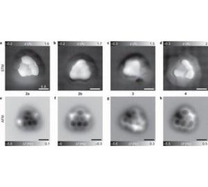 Ученым компании IBM удалось сделать снимки редкой треугольной молекулы